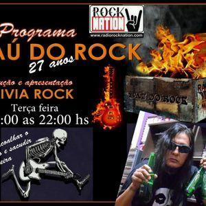 Programa BAÚ DO ROCK - 23 - Agosto - 2016 - Radio Rock Nation