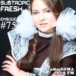 Ron Sky - Subtropic Fresh Radioshow (Episode 75)