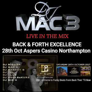Dj Mac 3 Back & Forth Excellence Mix