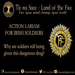 Action Lariam for Irish Soldiers - Why are soldiers still being forced to take this dangerous drug?