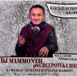 DJ MAMMONTH pres. RADIO SHOW DEEPOTEKA #1 2013