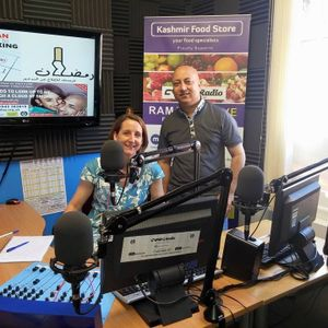 Idrees Rashid Drivetime interview with Zoe Lewis from Middlesbrough College