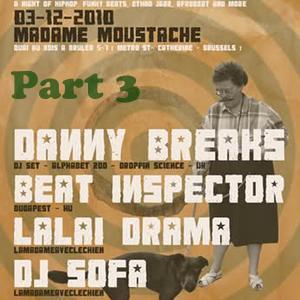 Beatinspector @ Madame Moustache Brussels 2010.12.03. part3
