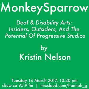 Deaf & Disability Arts: Insiders, Outsiders, And The Potential Of Progressive Studios-Kristin Nelson