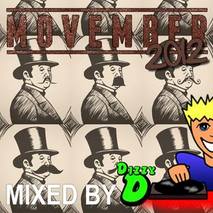 Movember 2012 - DJ Dizzy D