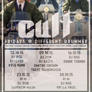 Deep House set @ Different Drummer 16/10/2015 part 1