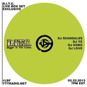 DJ HoBo - D.I.T.C Mix (Feb22 2013)