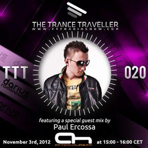 Darius Romanowski pres. The Trance Traveller RadioShow 020 with Paul Ercossa Guest mix