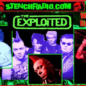Wattie Buchan Of The Exploited 4/30/2015 on STENCHRADIO.COM