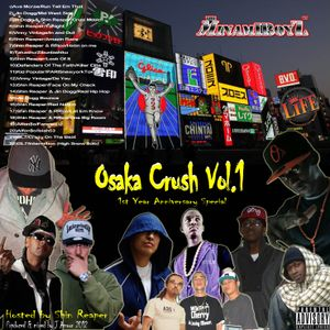 Osaka Crush Vol.1 - Mixed By J Amour (2012)