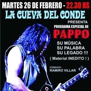 La Cueva del Conde Especial Pappo 26-02-13