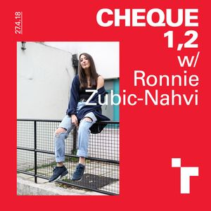 Cheque One, Two with Ronnie Zubic Nahvi-29 September 2018