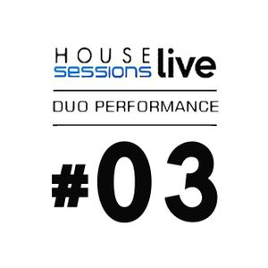 HOUSE live SESSIONS - DJ Zeff x D Rich (trumpet & percussions) Podcast #03
