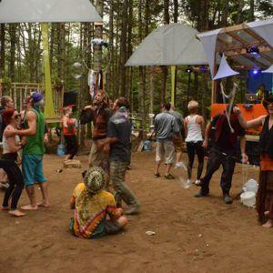 dj forage - live @ future forest 2014 mushroom forest