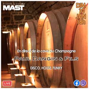 DJ MAST - LIVE @ CHAMPAGNE PAUL DANGIN (2021)