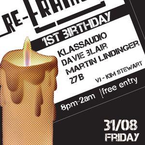 ReFrame DJ Mix 004 1st Birthday