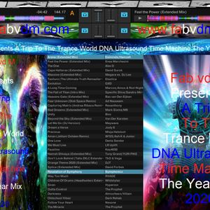 Fab vd M Presents A Trip To The Trance World DNA Ultrasound Time Machine The Year Mix 2020