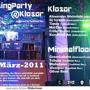 KLOSOR closing Party