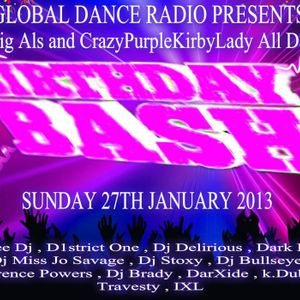 DarXide - Live on Global Dance Radio! (January 27, 2013)