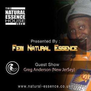 The Natural Essence House Show - Episode 149 – DJ Greg G