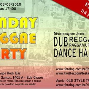 Sunday Reggae Party Mixtape 1