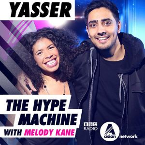 Live on BBC Asian Network for Yasser's HYPE MACHINE MIX (RADIO RIP)