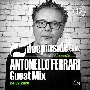 ANTONELLO FERRARI is on DEEPINSIDE #02