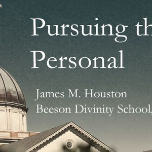 Pursuing the Personal