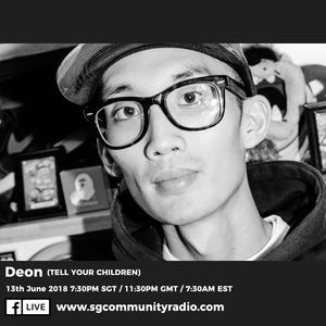 SGCR Radio Show #71 - 13.06.2018 Episode ft. Deon (Tell Your Children)