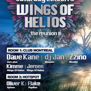 dj Dave Kane @ Club Montreal - Wings of Helios - Reunion III 22-06-2013