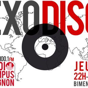 Exodisc - Radio Campus Avignon - 31/10/2013
