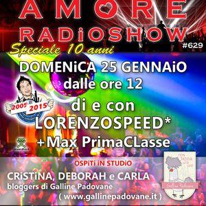 LORENZOSPEED present AMORE Radio Show # 629 w CRiSTiNA PAPiNi CARLA CARTURAN DEBORAH SOTTANA MAX p 1