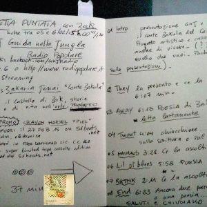 "Conte Zakula's reading. Sound PROMO: Crayon Mortel ""PIEL"", 51beats 2015 - Maracuja @ GNJ 06.02.15"