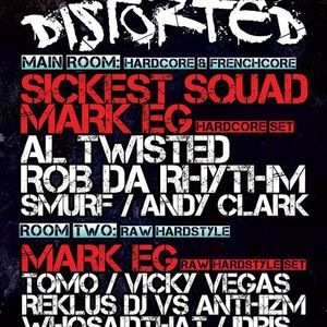 DJ Smurf - Distorted, Newcastle 20/04/2012
