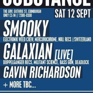 Mix live 12 September 2009 Edinburgh Substance
