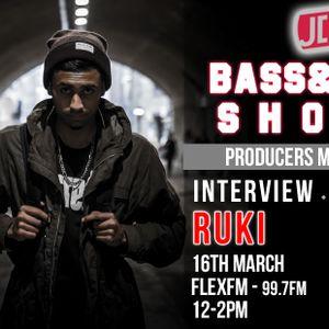 Bass&8s Show - DJ JDen interviews DJ Ruki (Flex fm 99.7fm)
