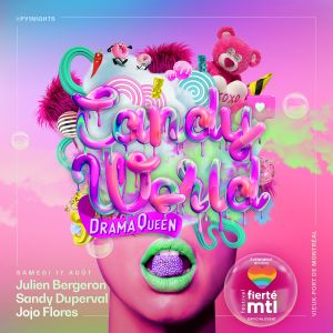 Live at PY1 Candy World X Drama Queen Pt 2 by jojoflores