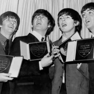 The Beatles and their awards.