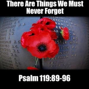 These Are Things We Must Never Forget