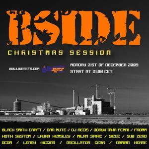 Dan Mute @ Bside show (21-12-2009)
