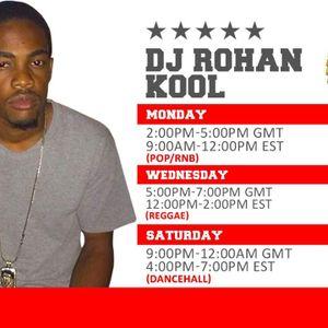 DJ ROHAN COOL REBROADCAST OF DRIVE THRU MONDAYS 5.9.16 RTMRADIO.NET