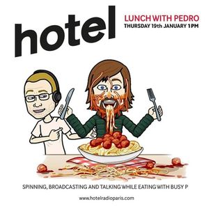Lunch with pedro - 19/01/17