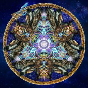 DJ MENTAL SOUP - MYSTICAL VOYAGERS VISIONARY SHAMANICS SHOW - 28/3/15