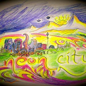 Neon City Sunrise on the Squalor Stage