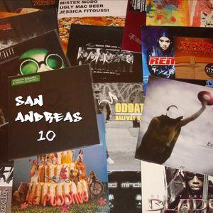 MK SOUNDZ - SAN ANDREAS 10 - Hip-Hop/Electronic Mix (Only Vinyls Mix)