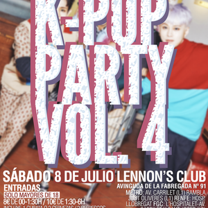 Sesión K-POP PARTY Vol.4 en Lennon's Club [08/07/2017] - Parte 5