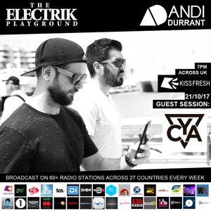 Electrik Playground 21/10/17 inc. CYA Guest Session