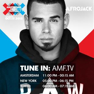 Afrojack Live @ Amsterdam Music Festival (ADE) 17/10/2015