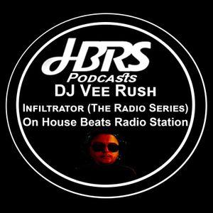 Dj Vee Rush Presents Infiltrator (The Radio Series) Live On HBRS 16-12-16