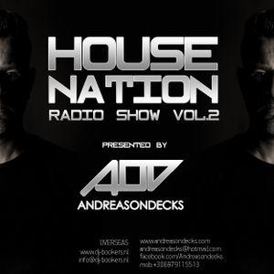 Housenation Radio Show vol.2 by Andreasondecks